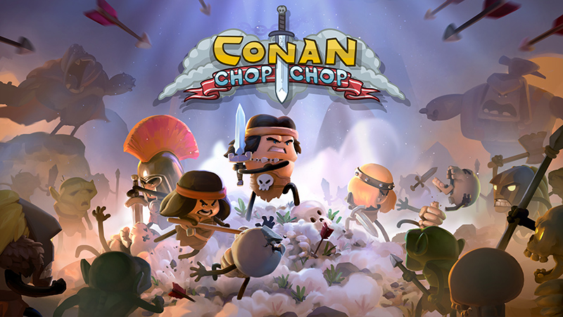 Conan Chop Chop to hit the shop in Q2 2020 On PC, PS4, XB1 and Switch: 1-4 player game Conan Chop Chop promises to be the most realistic stick-figure game set in the world of Conan the Barbarian.