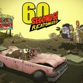 60 Seconds! Reatomized launches on Steam on July 25, bringing you a remastered edition of the original 60 Seconds! fallout survival!