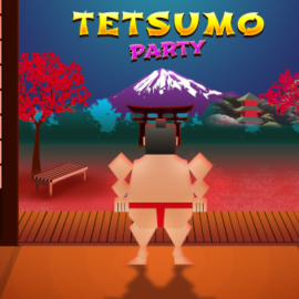 Flexible like a sumo wrestler, unbeatable like a ninja. Tetsumo Party is now available on consoles and PC!