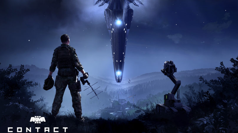 Arma 3 'Contact' Spin-off Expansion is Out Now