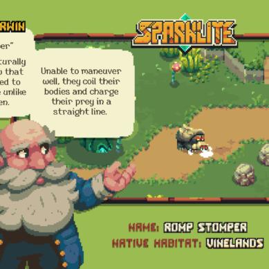 Secrets of Sparklite EXPOSED in Professor Corwin's Bestiary of Brutal Baddies