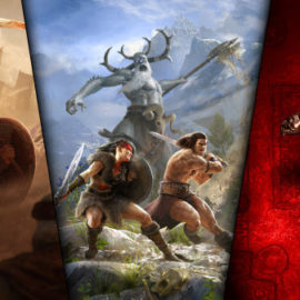 Play ALL of Funcom's Conan games free on Steam this weekend!