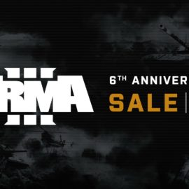 """Bohemia Interactive celebrates 6 years of Arma 3 — 5+ million users, Anniversary Sale, and free """"This Is War"""" remix"""