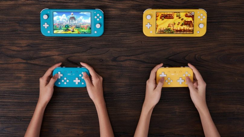 8BitDo's newest Switch controller loses thumb-sticks for Dpads