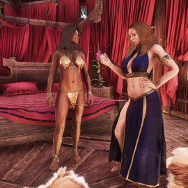 Things are about to get steamy in The Exiled Lands. The Debaucheries of Derketo DLC offers a host of new items and emotes, with lust and overindulgence as the common denominators.