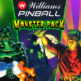 Classic Universal Monsters DLC Now Available for Pinball FX3 and Williams Pinball!