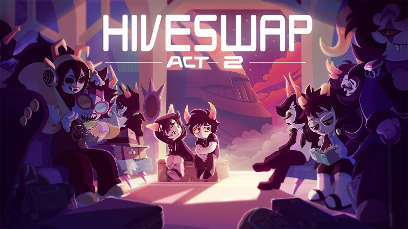 Hiveswap: Act 2 ‒ Key Art + Sneak Peek