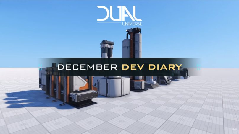 New Dev Diary from Dual Universe Developer Novaquark
