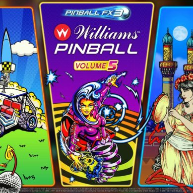 Pinball FX3 receives Williams™ Pinball: Volume 5 just in time for the Holidays – Available Now!