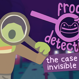 """Frog Detective 2: The Case of the Invisible Wizard"""" Hops Onto Steam & Itch.io!"""