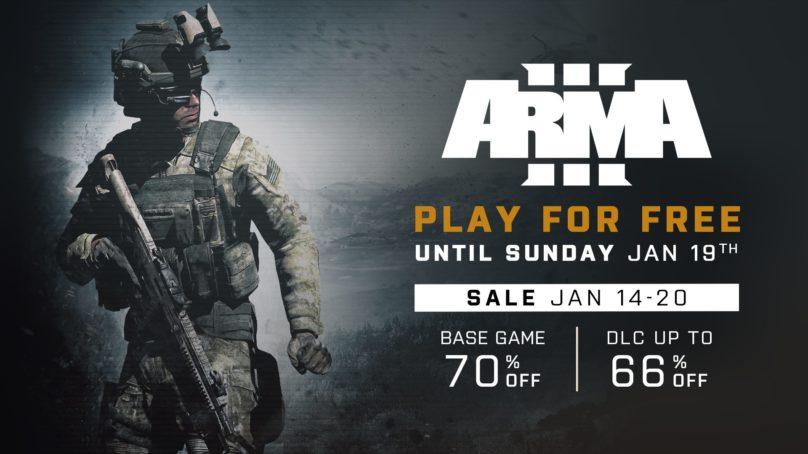 Arma 3 Steam Free Week Starts Today!