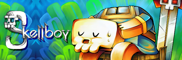 Skellboy rattles out heroically today onto the Nintendo Switch!
