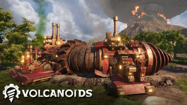 Co-op play in the works for Early Access drillship survival game Volcanoids